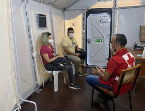 CICV acompanha atividades da Cruz Vermelha Brasileira no Amazonas